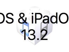 L'iOS 13.2 et l'iPadOS 13.2 sont disponibles au téléchargement [liens directs]