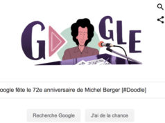 Google fête le 72e anniversaire de Michel Berger [#Doodle]