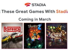 Google : les jeux Stadia Pro du mois de Mars