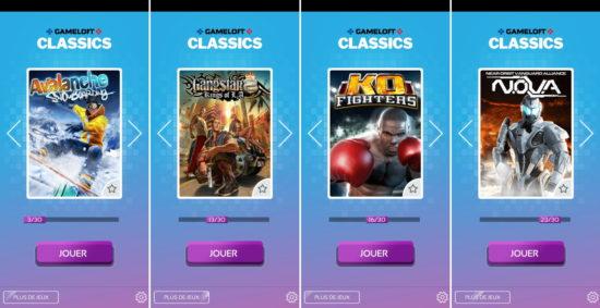Gameloft offre 30 jeux rétro sur Android