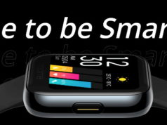 Realme a dévoilé sa montre connectée Realme Watch