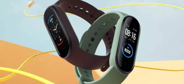 Le bracelet connecté Xiaomi Mi Band 5 est officiel !