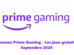 Amazon Prime Gaming : les jeux gratuits du mois de septembre 2020