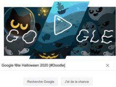 Google fête Halloween 2020 [#Doodle]