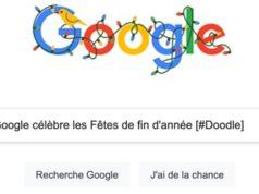 Google célèbre les Fêtes de fin d'année (jour 1) [#Doodle]