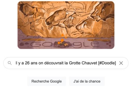 Il y a 26 ans on découvrait la Grotte Chauvet [#Doodle]