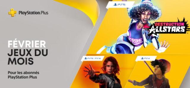 PlayStation : les jeux offerts du mois de février 2021 sur PS Plus