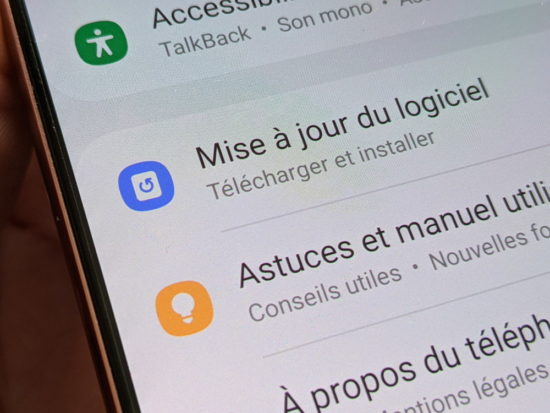 Test du Samsung Galaxy Note 20 5G