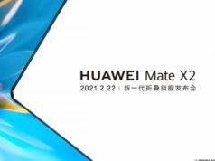Huawei présentera son Mate X2 le 22 février prochain