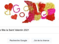 Google fête la Saint Valentin 2021
