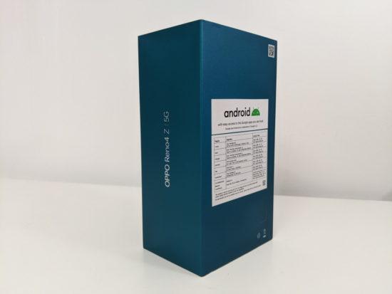Test du Oppo Reno 4Z 5G