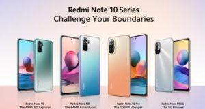 Xiaomi Redmi a présenté sa série Redmi Note 10