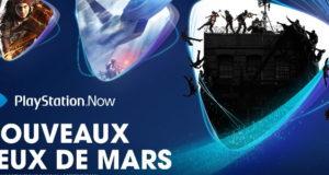 Playstation : les jeux Playstation Now de Mars 2021