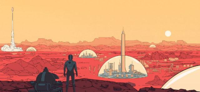 Surviving Mars offert sur Epic Games Store