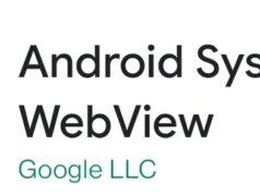 Android System Webview, la solution des applications qui plantent sur Android