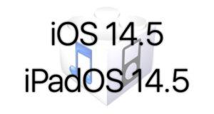 L'iOS 14.5 sera disponible à partir du 26/04