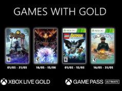 Les jeux Xbox Games With Gold du mois de mai 2021