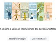 Google célèbre la Journée internationale des travailleurs [#Doodle]