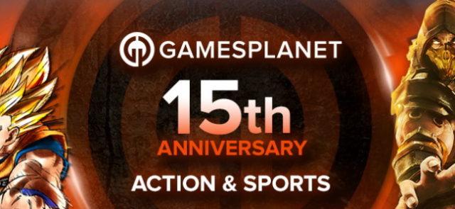 Gamesplanet fête ses 15 ans avec de nombreuses promotions