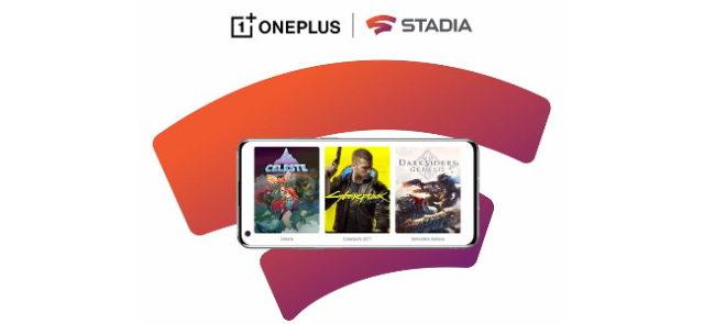OnePlus et Stadia s'associent pour offrir un pack Stadia Premiere Edition