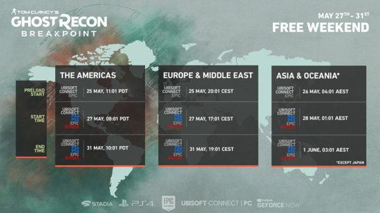 Week-end gratuit : Ghost Recon Breakpoint jouable gratuitement jusqu'au 31 mai
