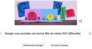 Google vous souhaite une bonne fête des mères 2021 [#Doodle]