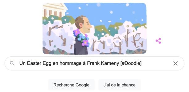 Un Easter Egg en hommage à Frank Kameny [#Doodle]