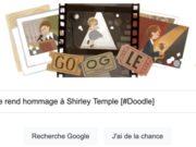 Google rend hommage à Shirley Temple [#Doodle]