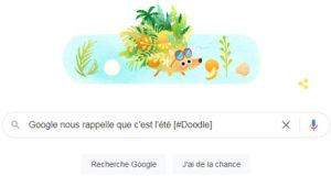 Google nous rappelle que c'est l'été [#Doodle]