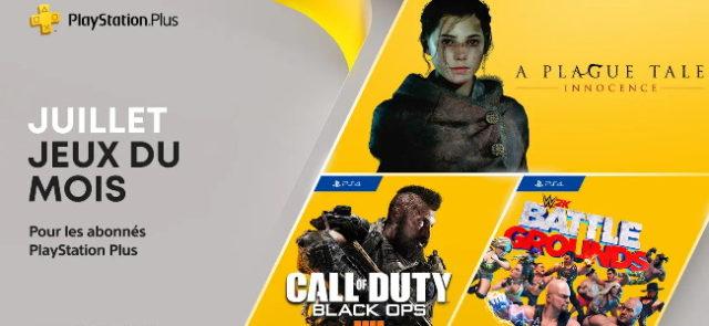 PlayStation : les jeux offerts du mois de juillet 2021 sur PS Plus