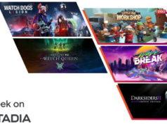 Les jeux Stadia Pro du mois de septembre 2021
