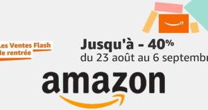 Amazon a lancé ses ventes flash de la rentrée