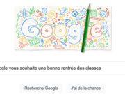 Google vous souhaite une bonne rentrée des classes