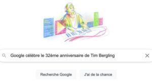 Google célèbre le 32ème anniversaire de Tim Bergling [#Doodle]