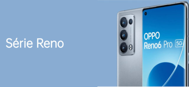 Les Oppo Reno6 et Reno 6 Pro sont disponibles