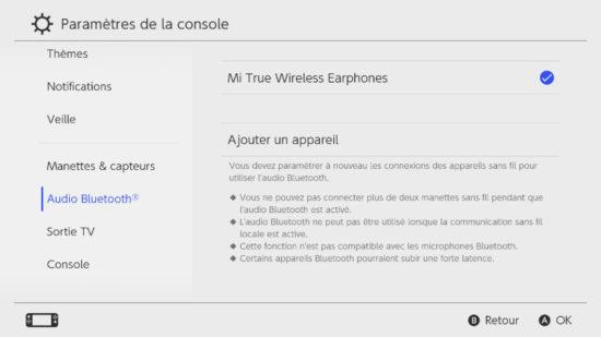 Nintendo Switch : comment connecter un casque bluetooth ? [Tutoriel]