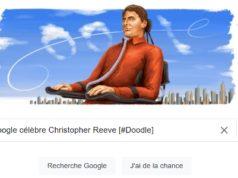 Google célèbre Christopher Reeve [#Doodle]