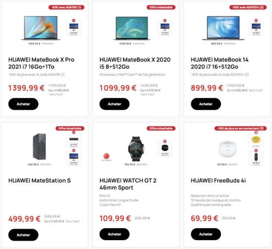 Huawei Days : de nombreuses remises entre le 24 septembre et le 5 octobre