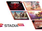 Les jeux Stadia Pro du mois d'octobre 2021